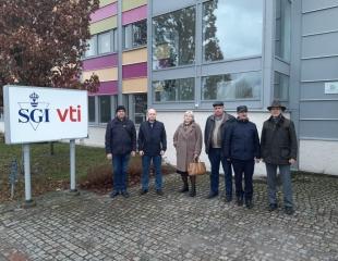 Делегация АСПОР в Шведском дорожно-транспортном научно-исследовательском институте VTI